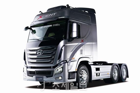 현대차의 대형트럭 트라고 엑시언트
