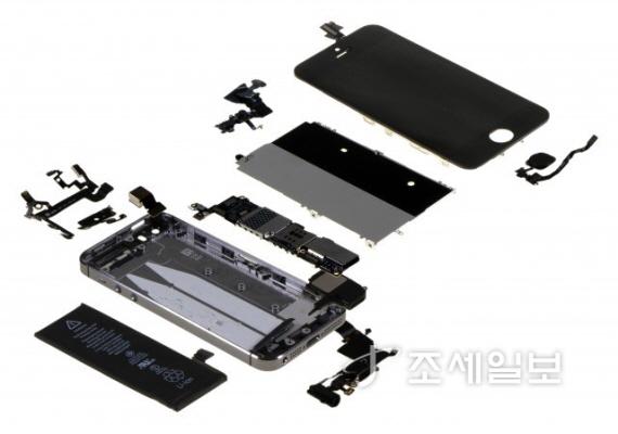 아이폰5S 분해도