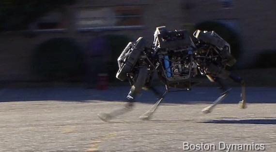 4족보행 로봇