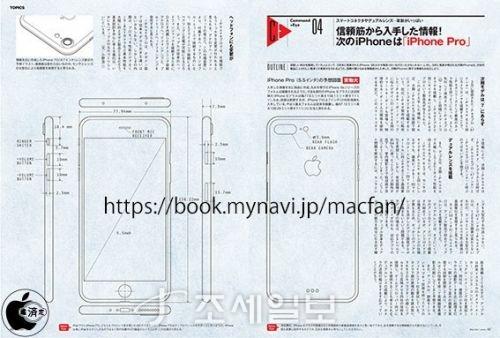 아이폰7 프로 디자인