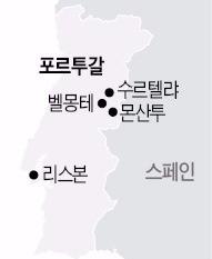 포르투갈 지도