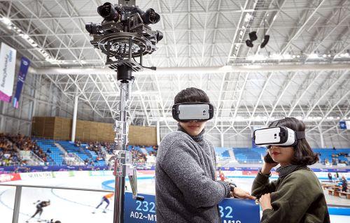 SK텔레콤, MWC2017서 초고화질 \'360 Live VR\' 공개