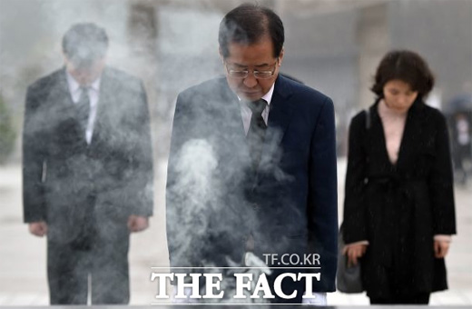 자유한국당, 홍준표 자서전 속 '돼지 발정제' 논란 해명