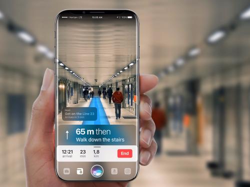 아이폰8 증강현실
