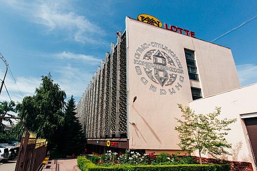 글로벌 성장을 견인하고 있는 롯데제과 카자흐스탄 법인 라하트알마티 본사 전경