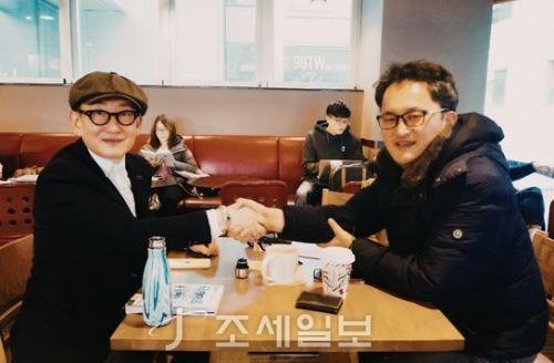 이장우 회장과 윤영돈 코치