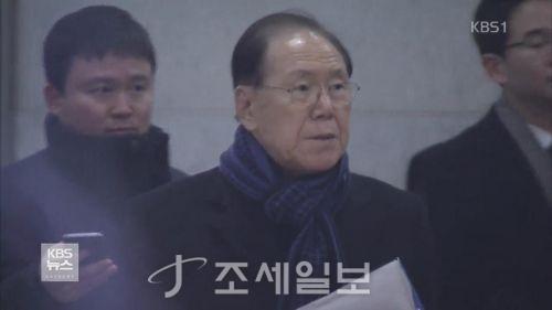 김백준 검찰 출석 [사진: YTN]