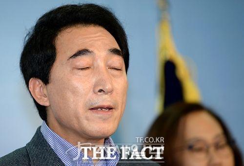 박수현 선거운동 재개 [사진: 더 팩트]