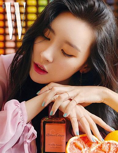 선미 화보 컷...출처: 더블유 코리아 W Korea, 아틀리에 코롱