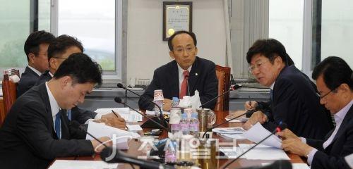 [포토]기획재정위원회 조세소위
