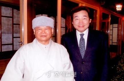 천담스님 방북 승인 <사진: 세계평화재단 블로그>