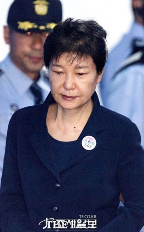 박근혜 징역 12년 구형 <사진: 더 팩트>