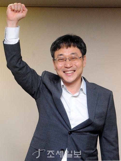 [포토]신임 회장으로 당선된 전병린