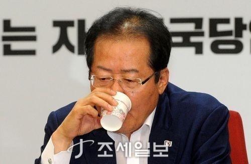 홍준표 자유한국당 전 대표. (자료사진=김용진 기자)