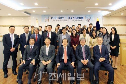 12개의 로펌이 사회공헌 활성화를 위해 설립한 로펌공익네트워크가 지난 11일 서울 강남구 바른빌딩에서
