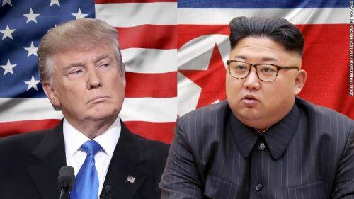 북미 양측은 18일(현지시간) 2차 정상회담을 2월말 개최하기로 합의했다. 사진은 1차 정상회담 때의 CNN 보도사진 (사진=CNN)