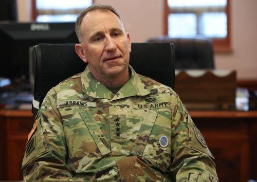 로버트 에이브럼스 주한미군사령관
