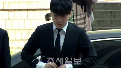 승리 구속영장 기각 <사진: KBS>