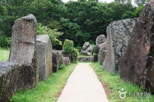 독특한 제주의 돌을 만날 수 있는 제주돌문화공원
