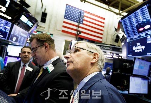 뉴욕증권거래소(NYSE)의 모습 [사진=연합뉴스]
