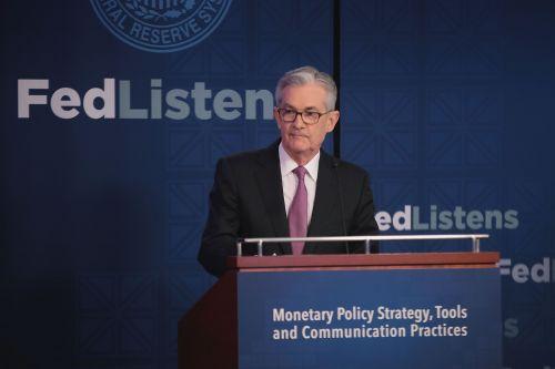 제롬 파월 미국 연방준비제도(Fed) 의장이 지난 4일(현지시간) 시카고에서 열린 통화정책회의에서 발언하고 있다. (사진=연합뉴스)