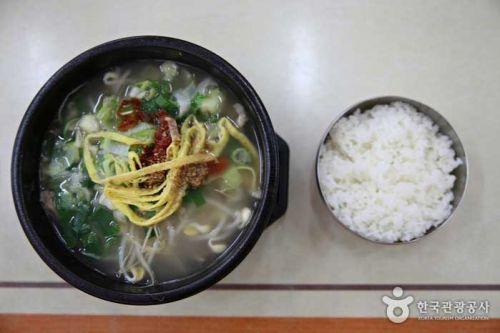 함경도 대중식인 가릿국밥