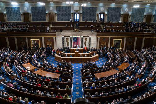 미국 워싱턴DC 연방의회 의사당의 모습