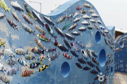 쉬리마을을 상징하는 공공 미술