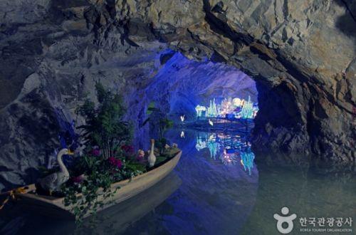 활옥동굴에서 만난 지하 못