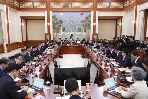 제34회 국무회의 모습 (청와대)