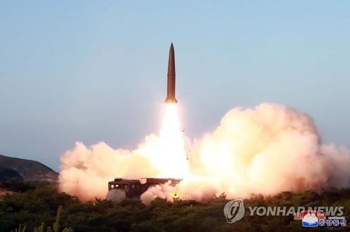북한의 단거리 탄도미사일(사진=연합뉴스)
