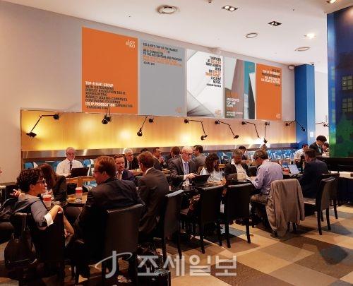 법무법인 광장이 지난 22일부터 6일 동안 열린 세계변호사협회(IBA) 서울 총회 기간에 변호사들의 교류 공간인