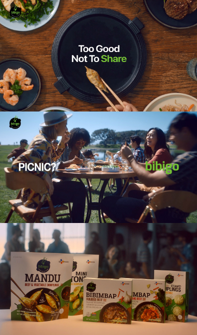 CJ제일제당,      미국에서 '비비고 글로벌 광고' 온에어