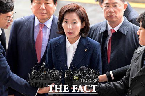나경원 자유한국당 원내대표가 최근 미 당국자에게