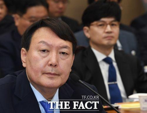 윤석열 검찰총장과 한동훈 대검 반부패강력부장
