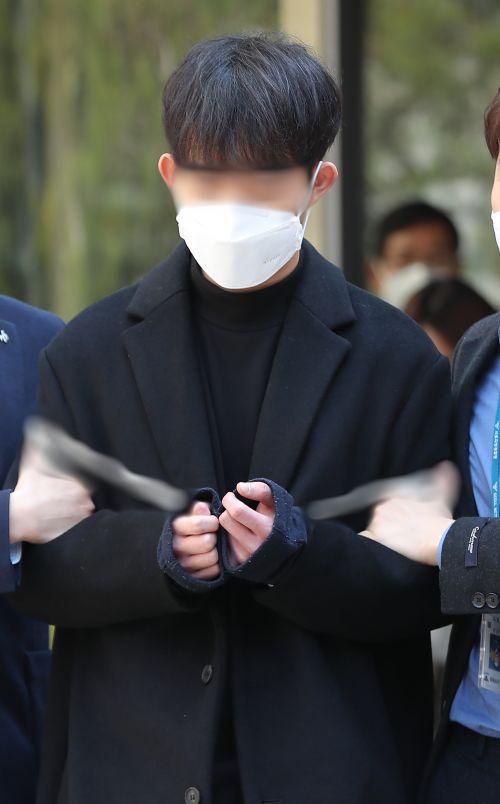 [포토] 조주빈에 개인정보 유출 공익요원 영장심사