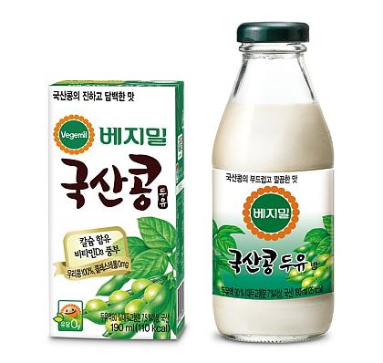 베지밀 국산콩 두유 제품 이미지